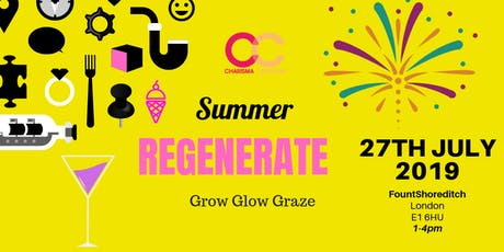 Sustainability & Wellbeing: Summer Regenerate  tickets