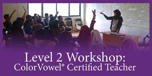 Level 2: Color Vowel® Confidence • Washington DC