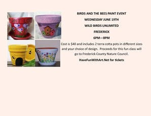 The Birds and the Bees Paint Night tickets