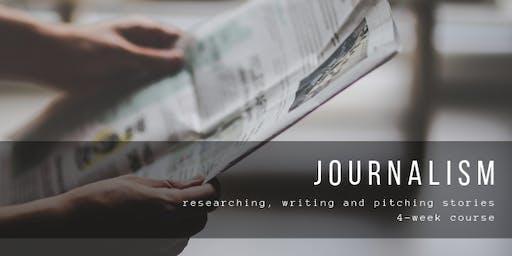 Journalism - researching, writing & pitching