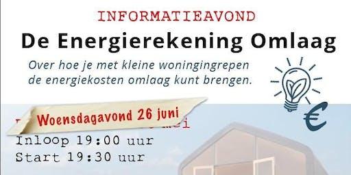 Informatieavond - De Energierekening Omlaag