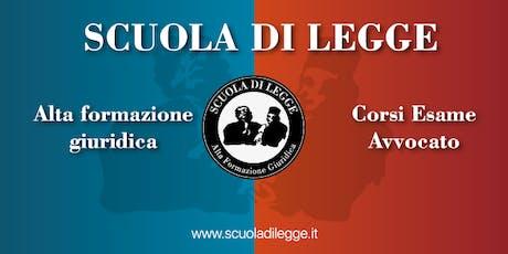Scuola di Legge - Open Day Verona (3 luglio 2019) biglietti