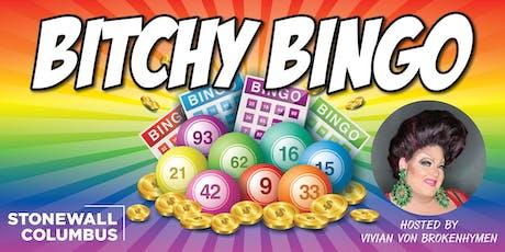 September Bitchy Bingo tickets