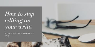 How to stop editing as you write