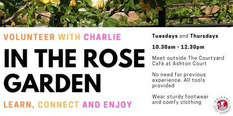 In the Rose Garden at Ashton Court tickets