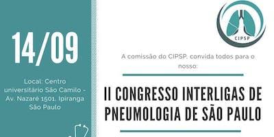 II CONGRESSO INTERLIGAS DE PNEUMOLOGIA DE SÃO PAULO - CIPSP