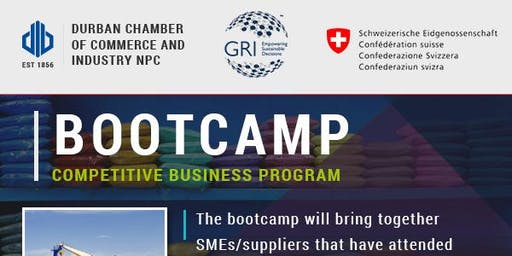 Bootcamp: GRI Competitive Business Program - 20 June 2019