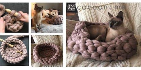 Crochet Kitty COCOON Cat Basket Workshop  - Lewes tickets