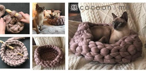 Crochet Kitty COCOON Cat Basket Workshop  - Lewes