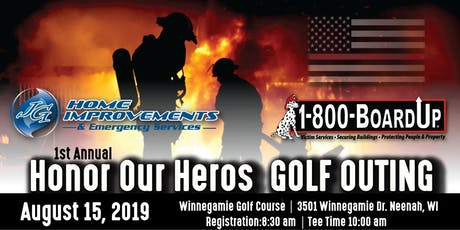 1st Annual Honor Our Heros Golf Outing tickets