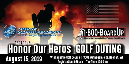 1st Annual Honor Our Heros Golf Outing