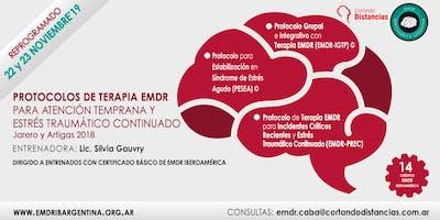 Protocolos de terapia EMDR para atención temprana y estrés traumático continuado