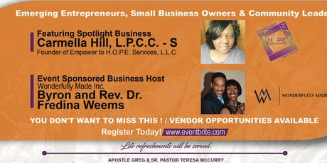 CNE 2nd Quarter Networking Event  {Christian Networking Entrepreneurs}  tickets