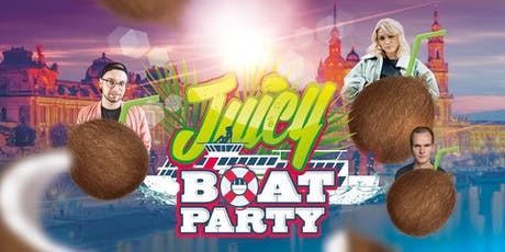 JUICY PARTY BOAT zum Dresdner Stadtfest tickets