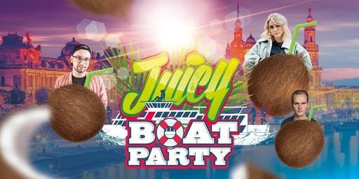 JUICY PARTY BOAT zum Dresdner Stadtfest