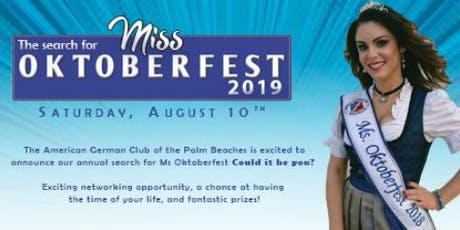 Miss Oktoberfest 2019 Pageant & Coronation Gala tickets