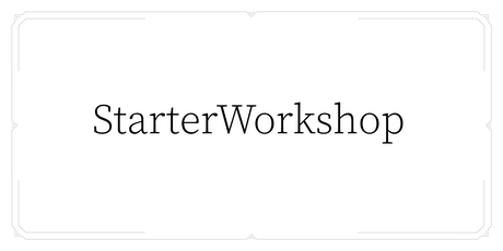StarterWorkshop/BrickProcess Tickets