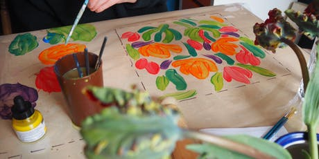 ONE DAY FABRIC PRINT AND CUSHION MAKING WORKSHOP  tickets