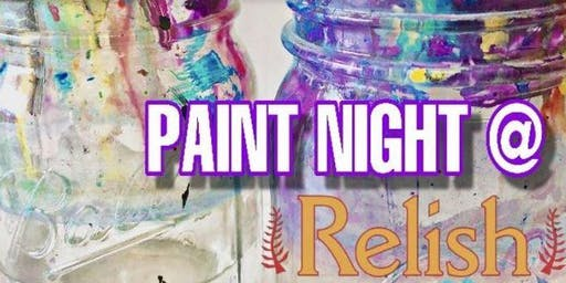 CreativeFlavor Paint Night at Relish