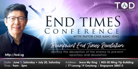 END TIMES CONFERENCE tickets