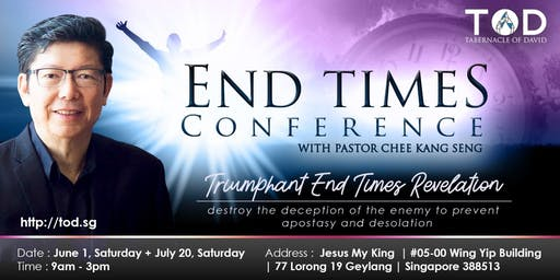 END TIMES CONFERENCE