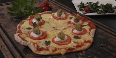 16/07 - A verdadeira Pizza, 19h às 22h - R$198,00