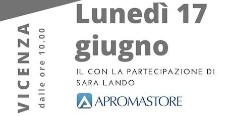 Click to Click e Apromastore con Sara Lando - lunedì 17 Giugno 2019 - Vicenza biglietti