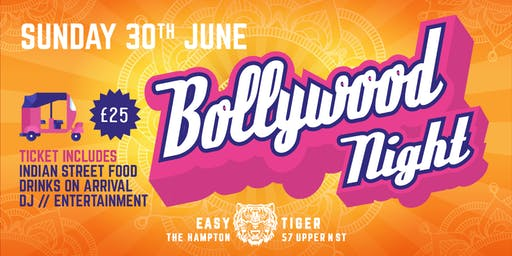 Bollywood Night at Easy Tiger