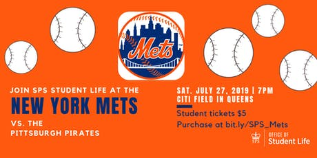Columbia SPS: Mets v. Pirates tickets