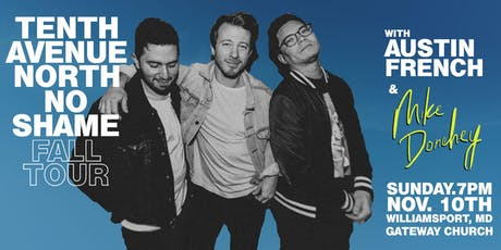 Volunteer Sign Up - Tenth Avenue North - Williamsport, MD - 11/10/19 tickets