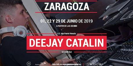 Sesión DJ Deejay Catalin en Pause&Play C.C. Puerto Venecia entradas