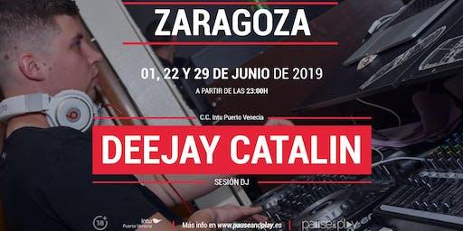 Sesión DJ Deejay Catalin en Pause&Play C.C. Puerto Venecia