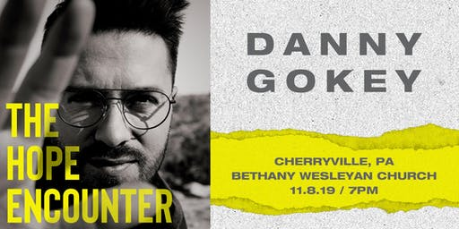 Volunteer Sign Up - Danny Gokey - Cherryville, PA - 11/8/19