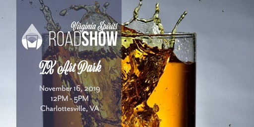Virginia Craft Spirits Roadshow: Charlottesville (at IX Art Park)