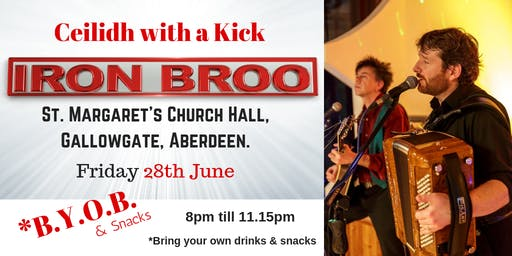 Iron Broo - Ceilidh with a Kick. (Fundraiser for Diabetes)