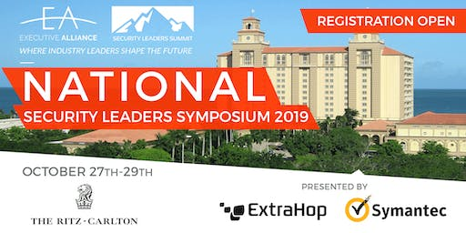 Executive Alliance's National Security Leaders Symposium 2019