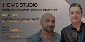 Masterclass Home Studio - Cosa sapere per realizzarlo...