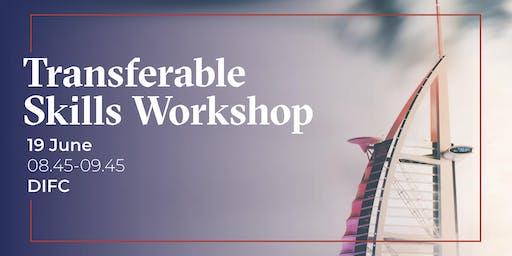 Alumni Career Workshop Series- Transferable Skills