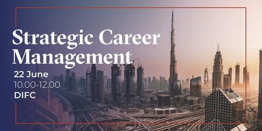 Strategic Career Management - Be your own Career Coach