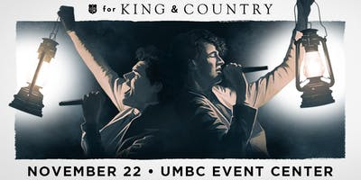 VOLUNTEER - For King & Country - Baltimore, MD - 11/22/19