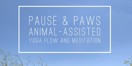 Pause & Paws: Animal-Assisted Yoga and Meditation tickets