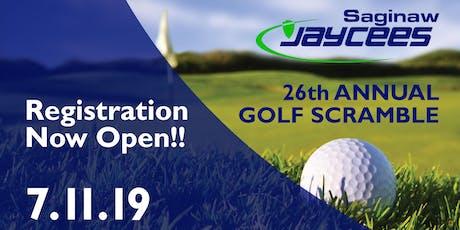 26th Annual Golf Scramble tickets