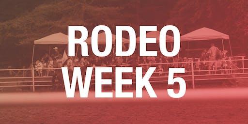 Rodeo Box Seats - Week 5 2019