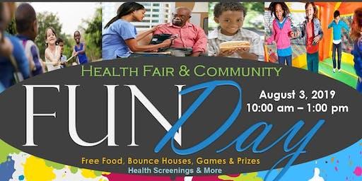 Health Fair & Community Fun Day