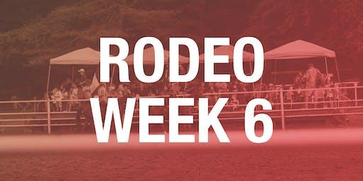 Rodeo Box Seats - Week 6 2019