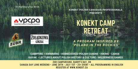 "Konekt Camp Retreat: A Program Inspired by ""Poland in the Rockies"" tickets"