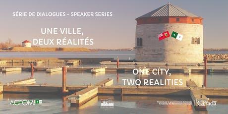 Une ville, deux réalités - One City, Two realities tickets