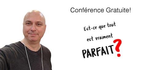 Conférence gratuite! billets