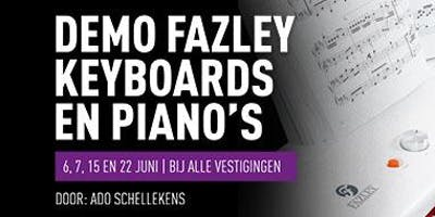 Demo Fazley Keyboards & Digitale piano's