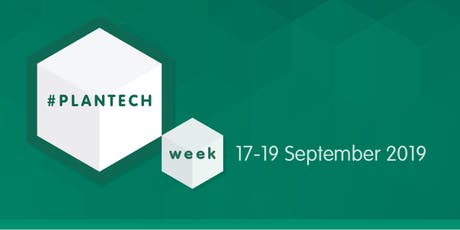 Plantech Week 2019 tickets